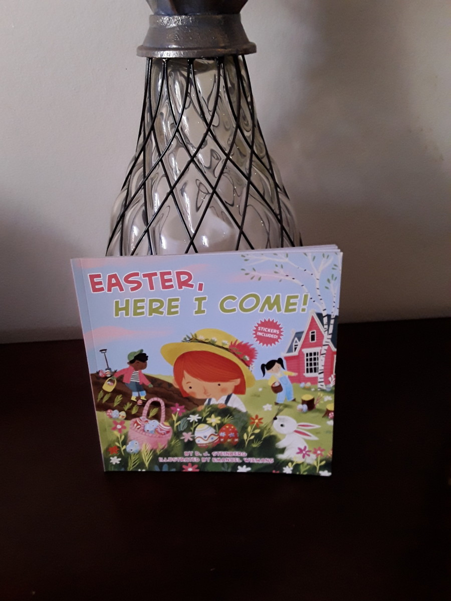 Cute paperback for your child's basket