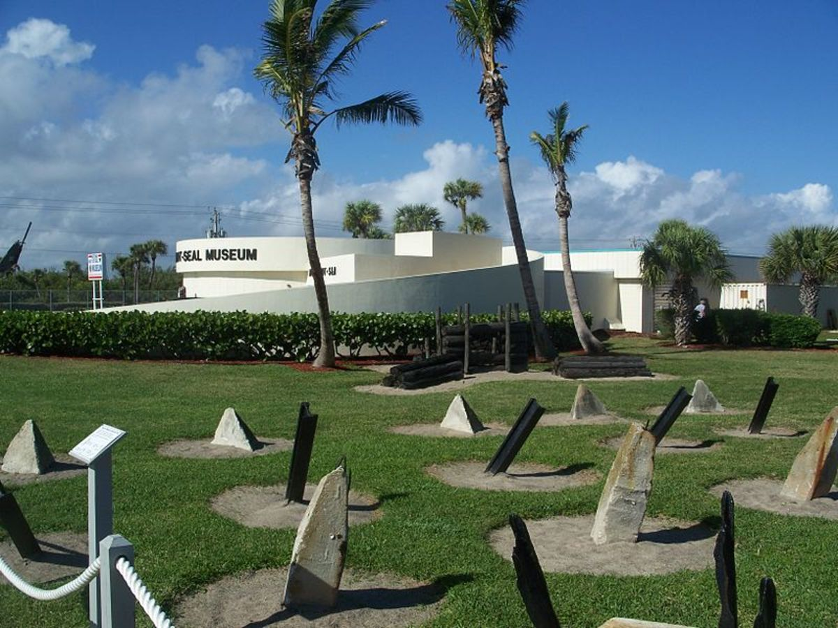Fort Pierce, Florida: National Navy UDT-SEAL Museum