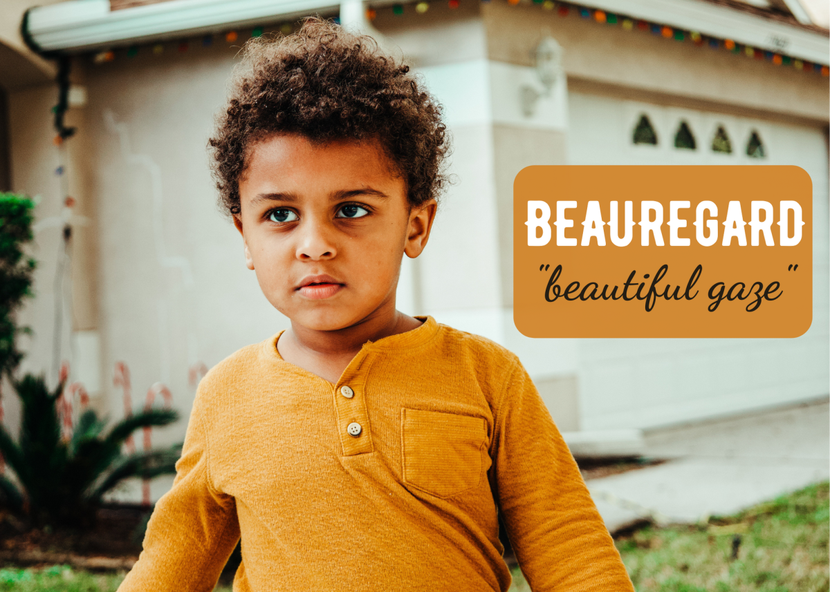 """If Beauregard seems like a mouthful for a toddler, shorten it to the cute nickname Beau. This name can also mean """"respected."""""""