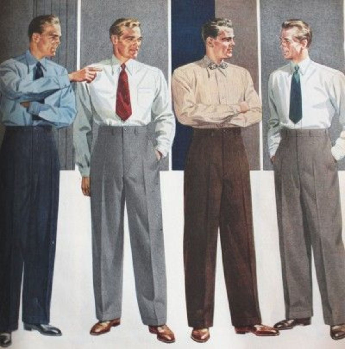 Bulletin: Men's Pleated Pants and White Socks Have Vanished