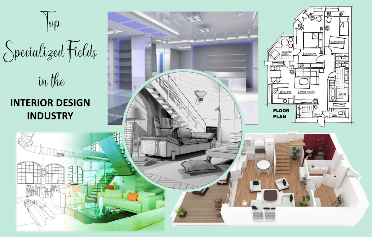 There are many ways to specialize within the interior design industry.