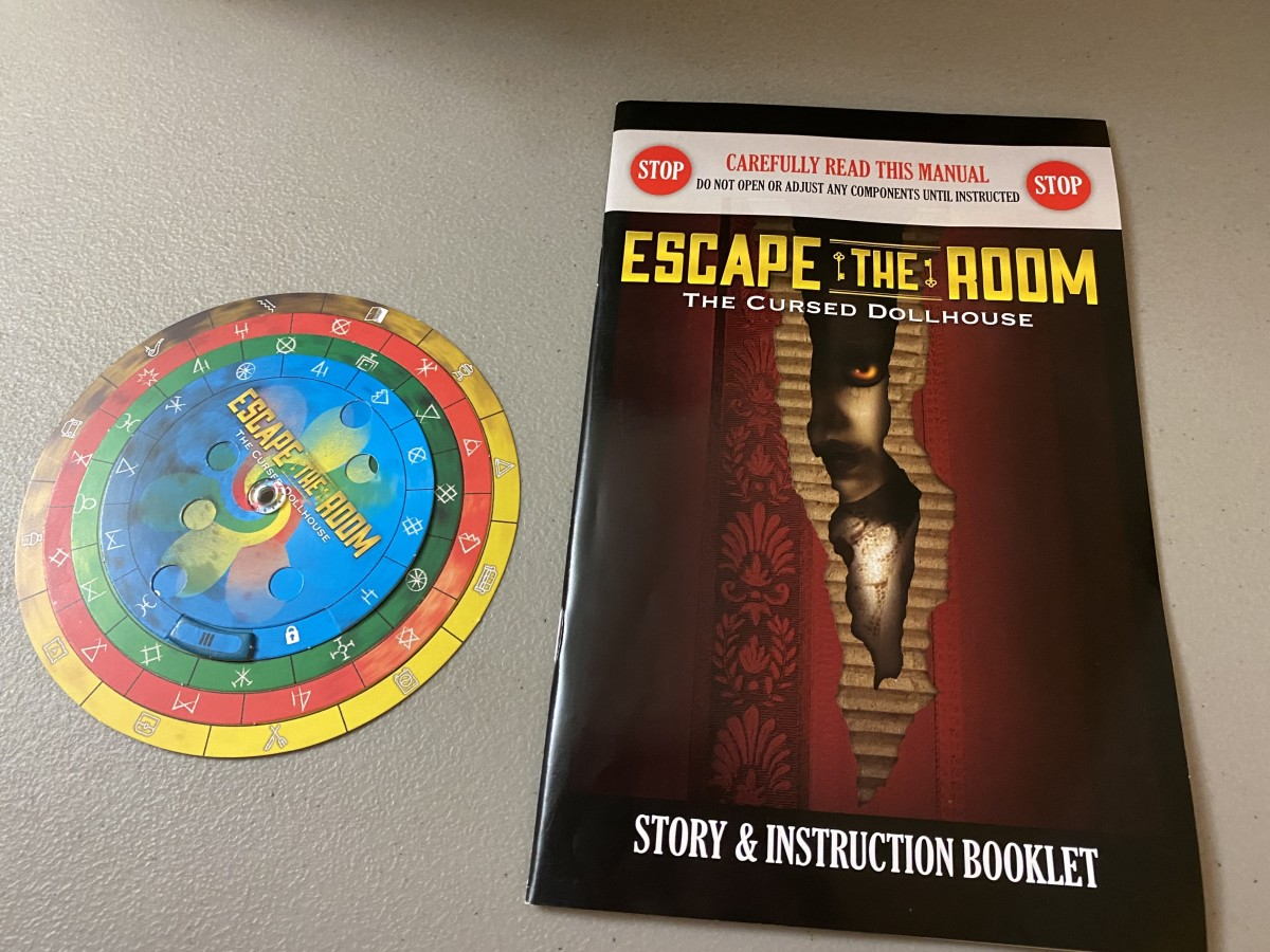 Escape the Room story and instruction booklet