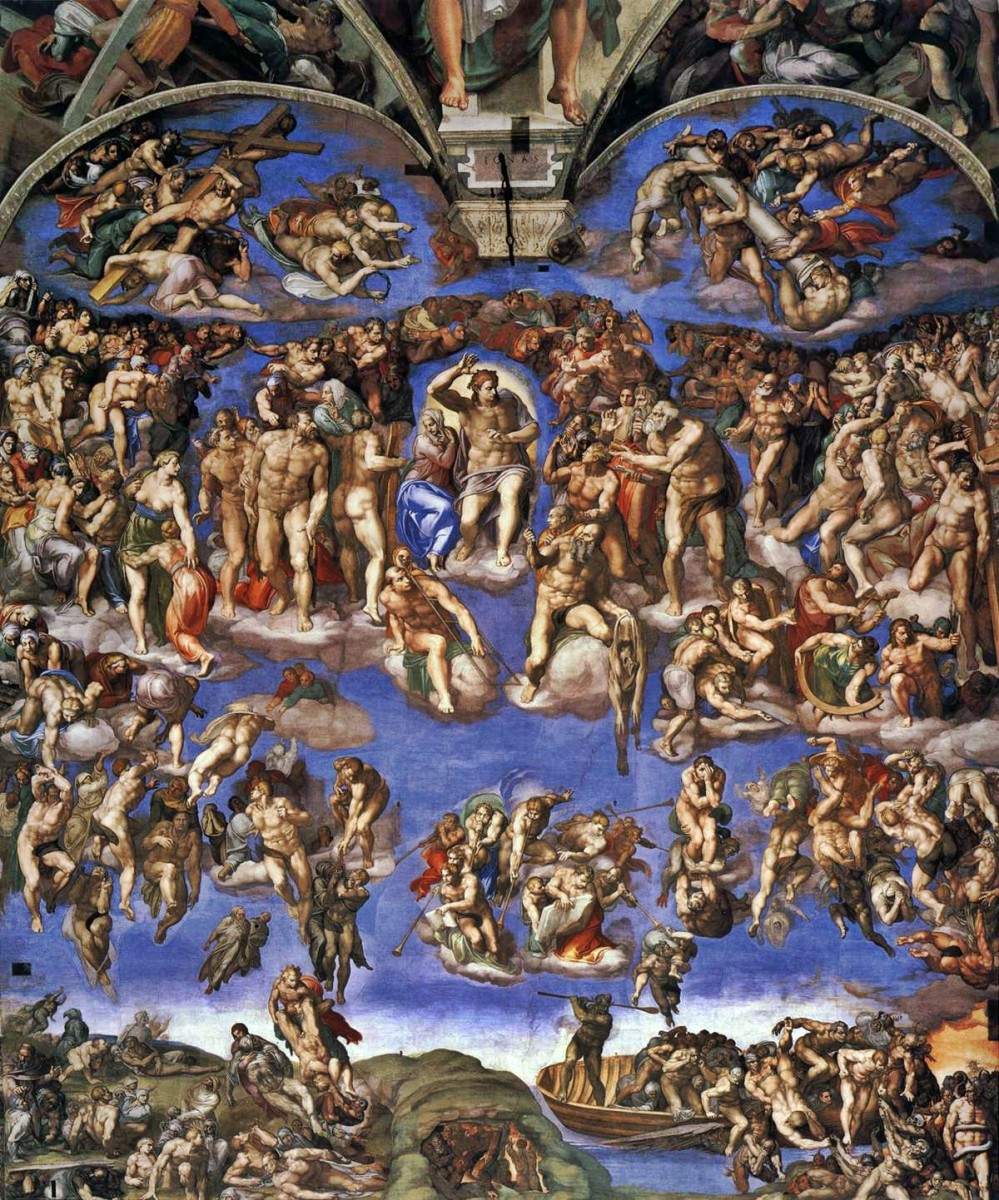 Michelangelo's Last Judgement