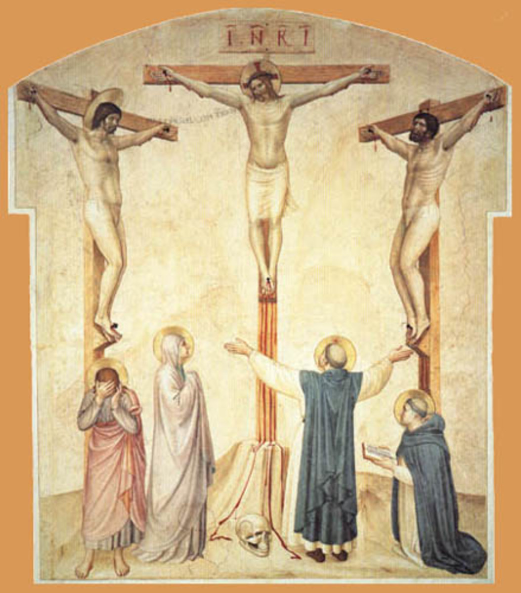 """Crucifixion"" by Fra Angelico"