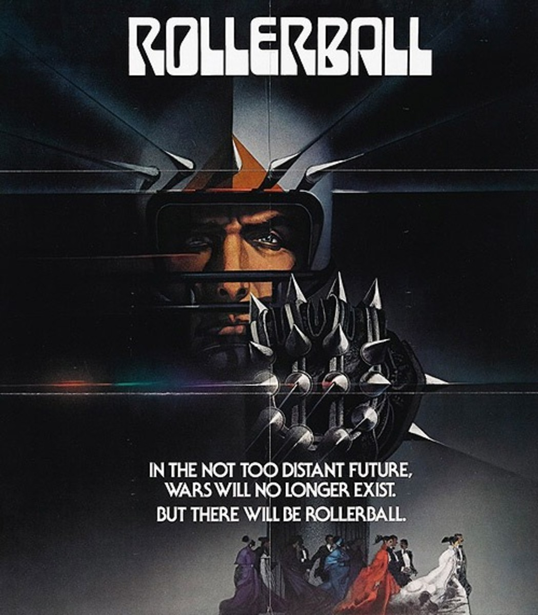 Rollerball (1975) art by Bob Peak