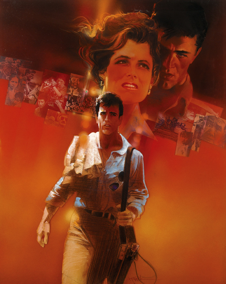 The Year of Living Dangerously (1982) art by Bob Peak