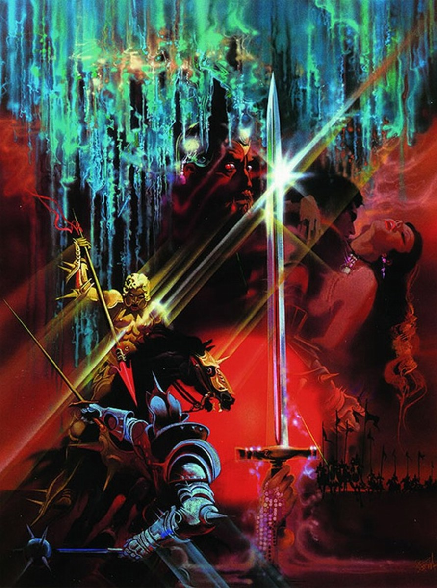 Excalibur (1981) art by Bob Peak