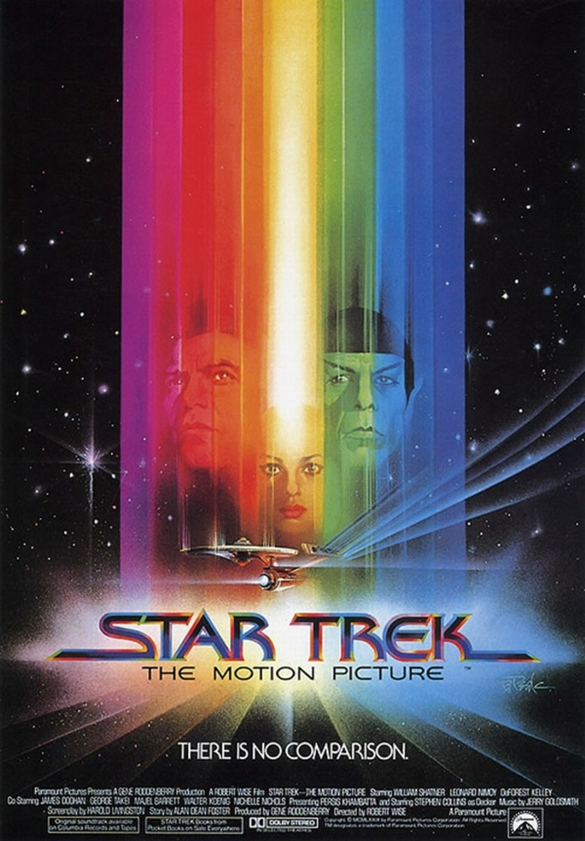 Star Trek the Motion Picture (1979) art by Bob Peak