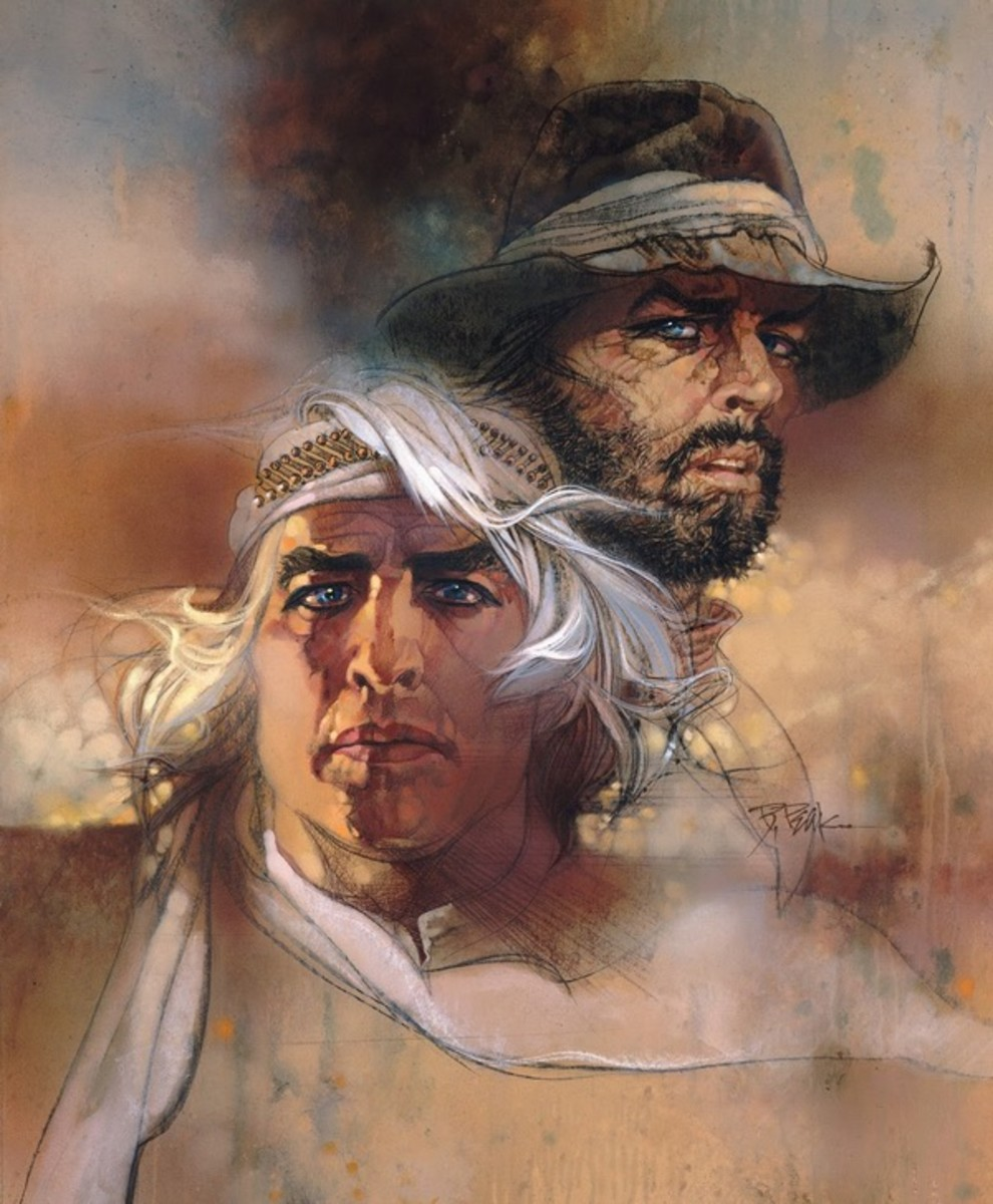 The Missouri Breaks (1976) art by Bob Peak