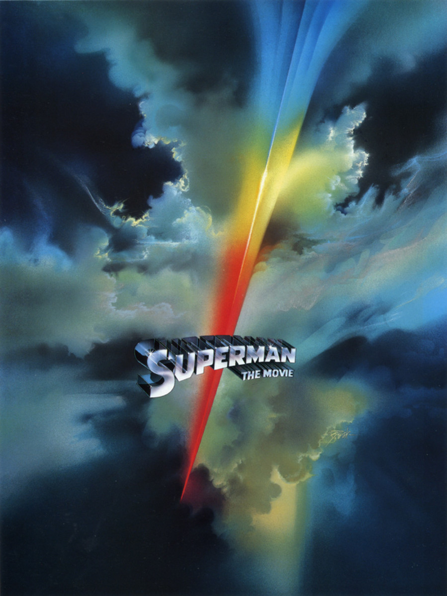 Superman the Movie (1978) art by Bob Peak