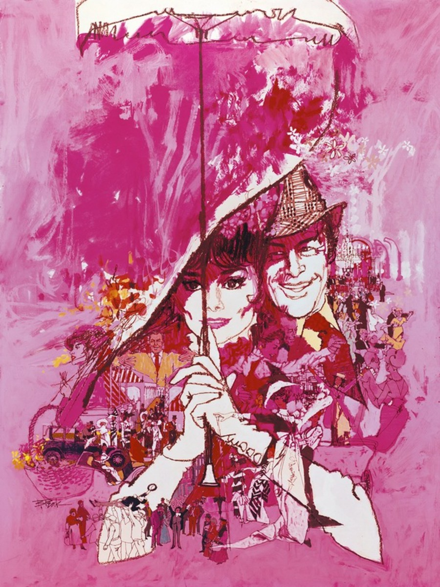 My Fair Lady (1964) art by Bob Peak