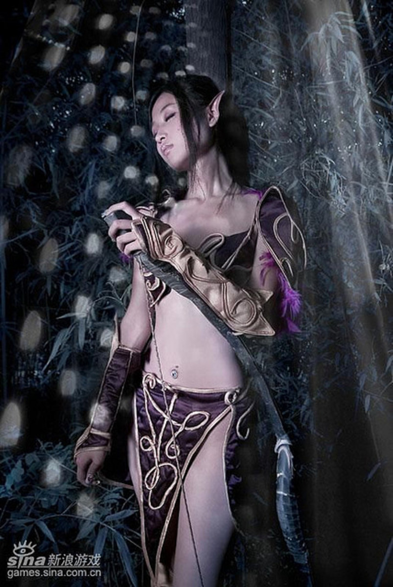 Night Elf Cosplay By Enchanted Collection