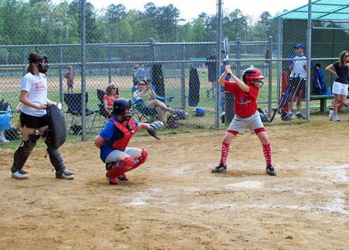 A Little League Softball Game