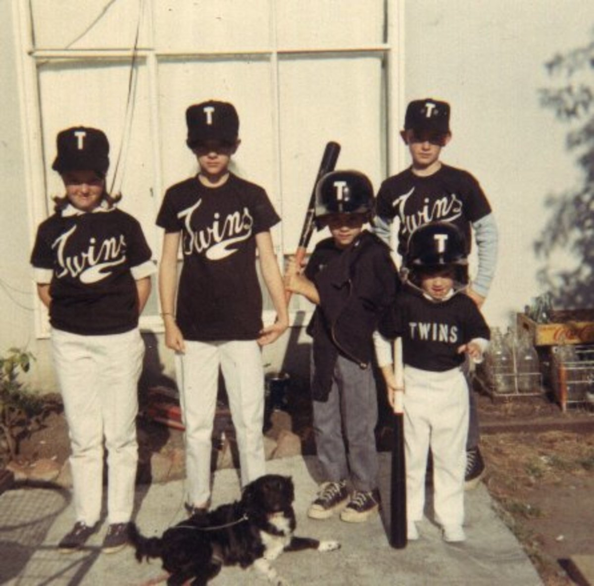 My family ready for opening day 1968-1969.  Only my brothers got to play that day.