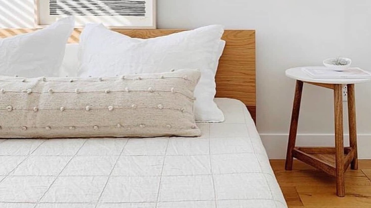Hit refresh on your bedspread with these four pillows and the long lumbar pillow.