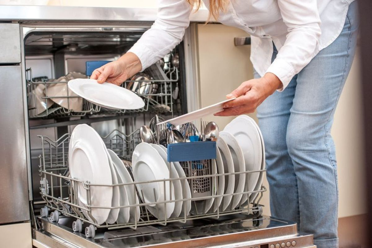 And the dishwasher has to be cleaned once in a while. To sanitize this hardworking gadget, try our super easy hack.