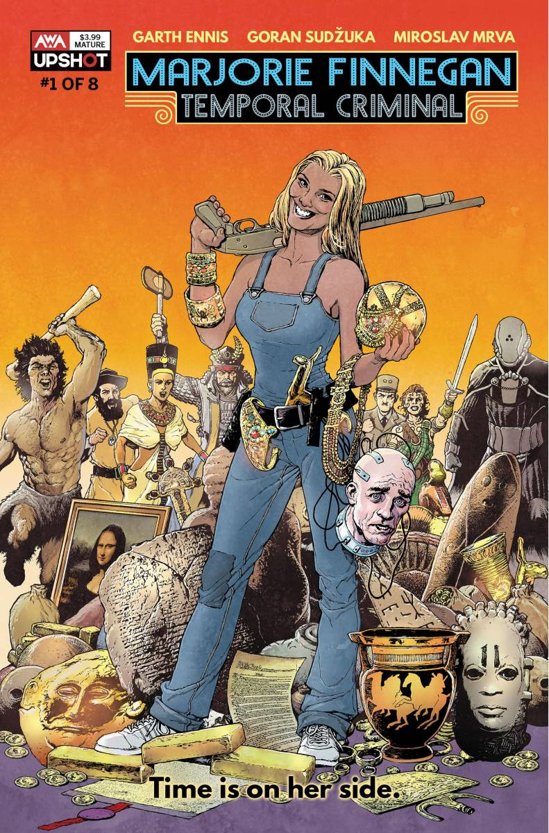 Garth Ennis is back with Marjorie Finnegan #1 from AWA!