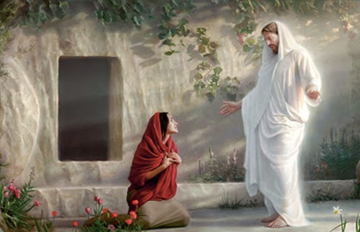 The Risen Jesus Christ Appears to Mary Magdalene