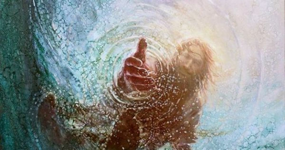 Jesus Reaches for You in the Depths of Your Despair