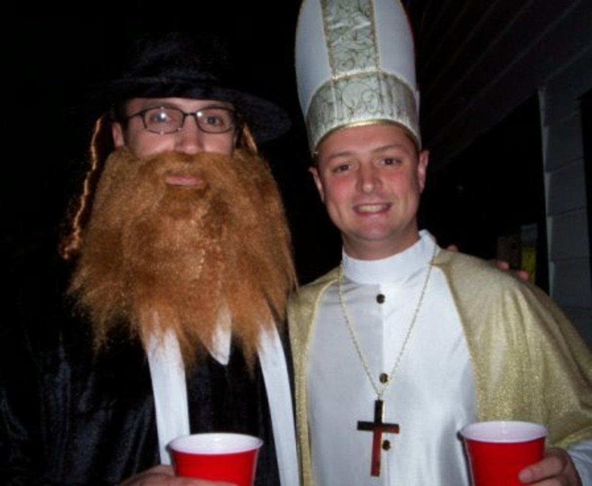 So, a priest and a rabbi walk into a bar...