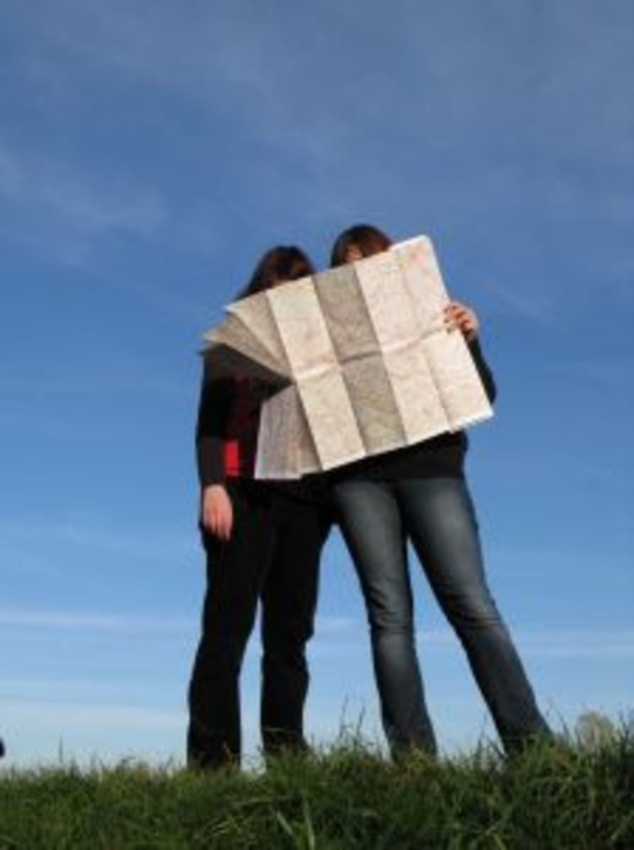 Are you lost?  Read a road map!