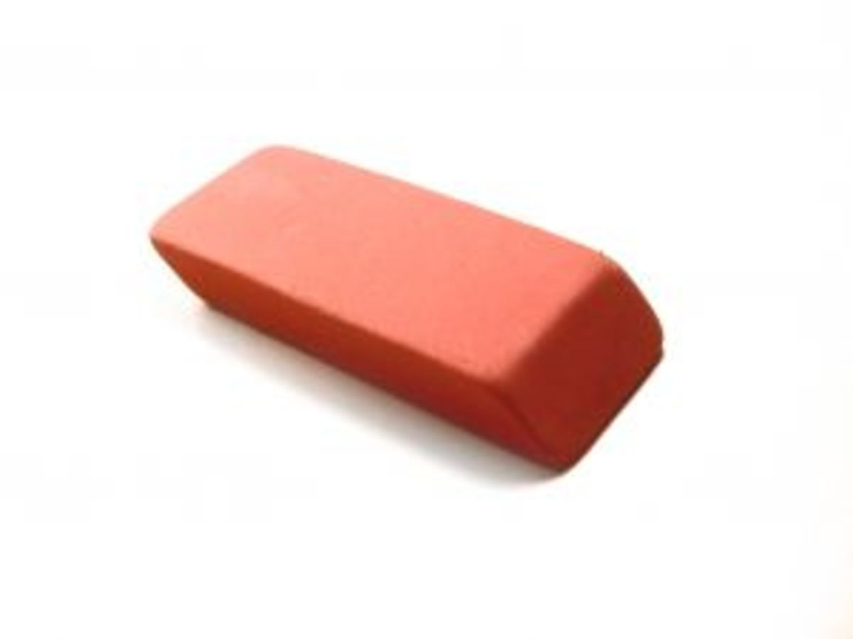 Big pink eraser