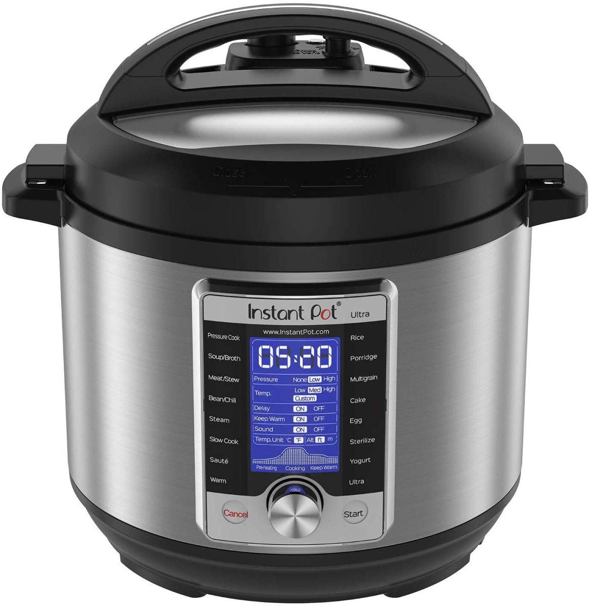 The Instant Pot Ultra 60 Ultra 6 Qt 10-in-1 Multi- Use