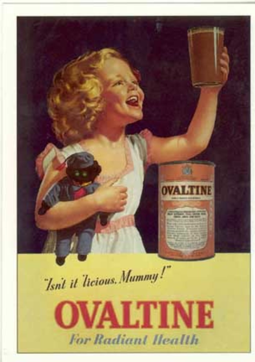Old Ovaltine ad