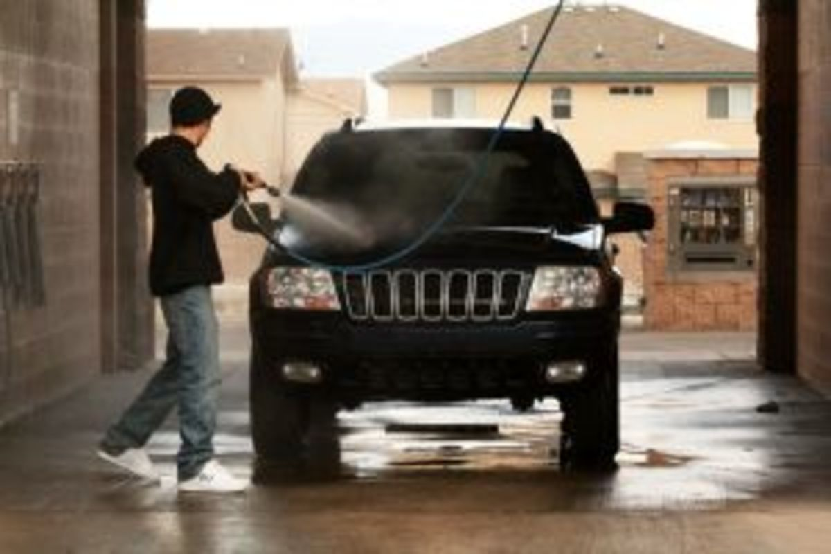 Don't forget to wash your car