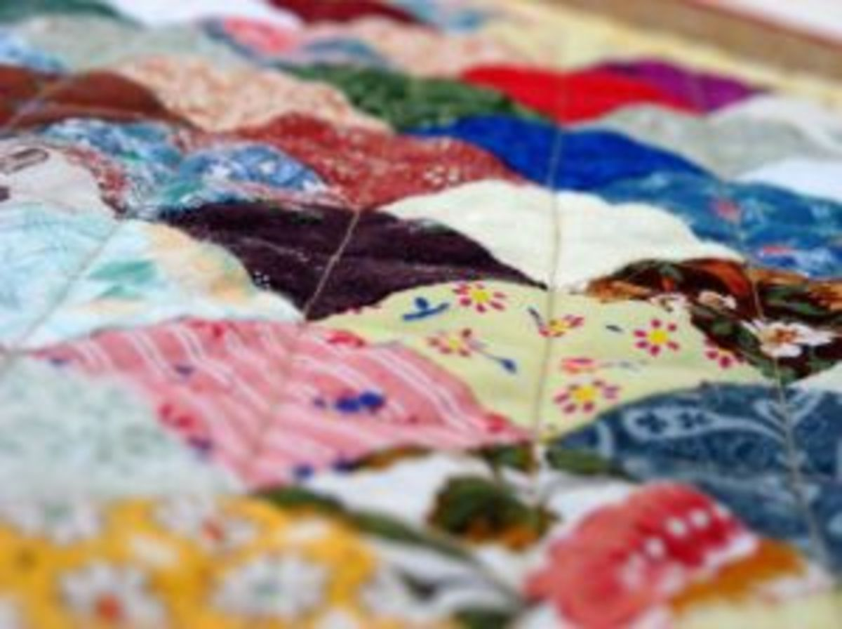 Make a quilt.  How hard can it be?