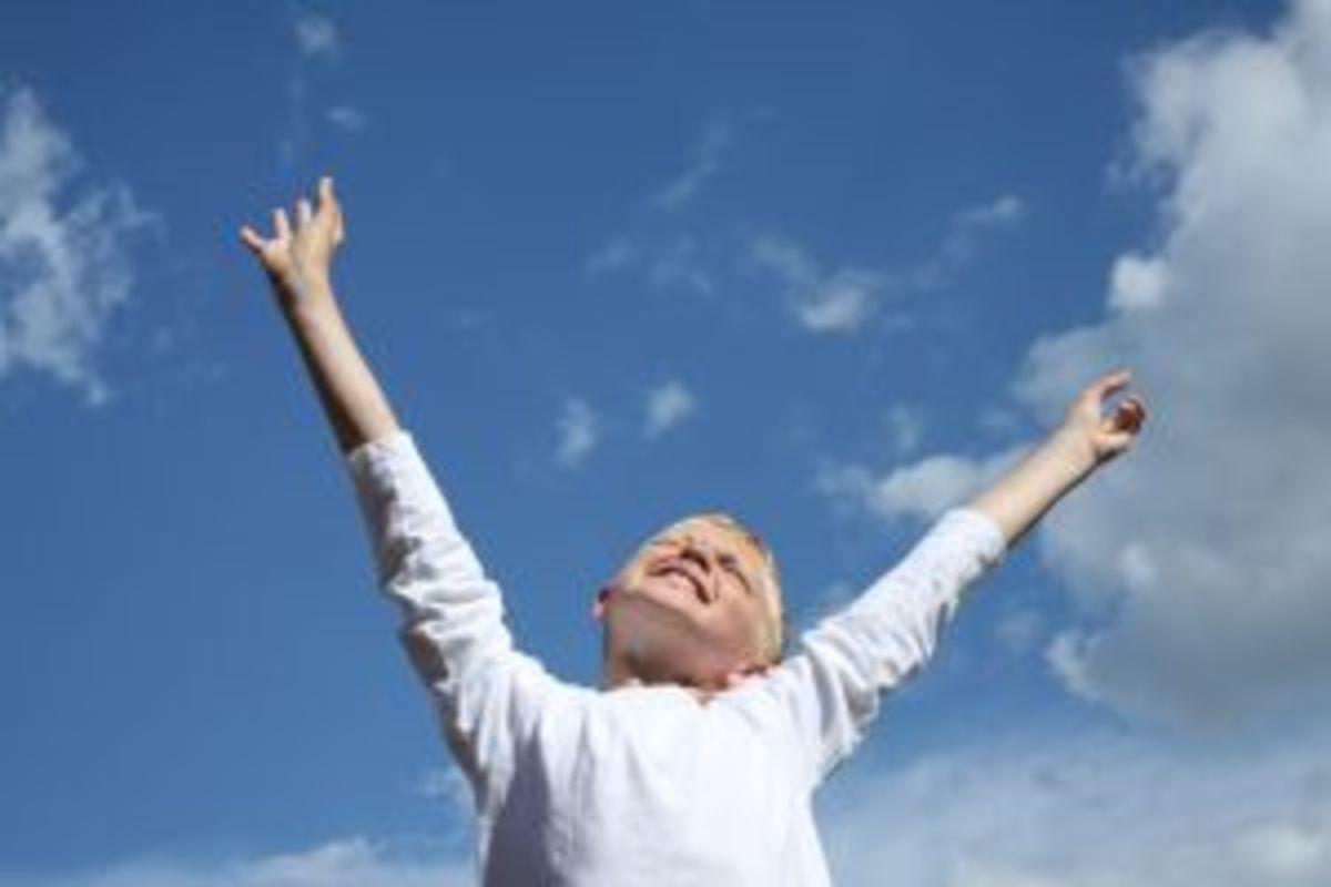 Reach as high as you can!