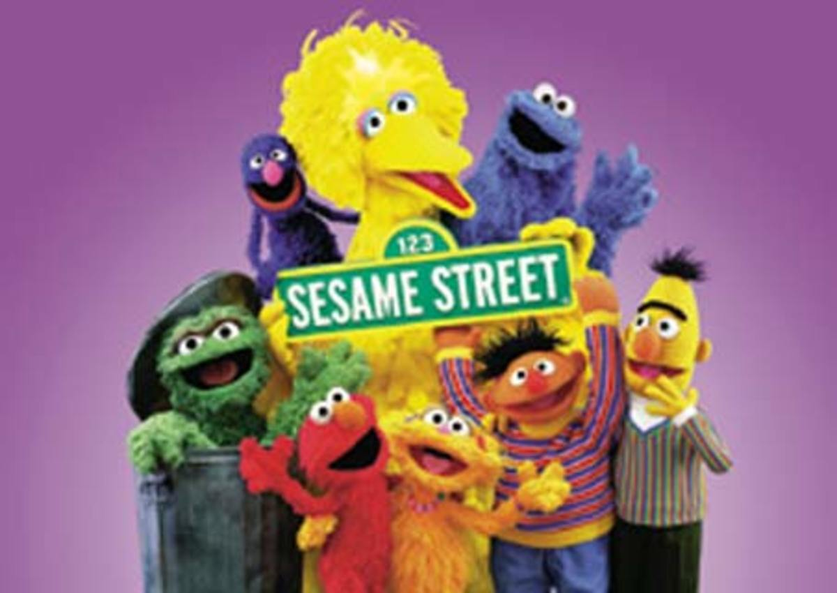 Sesame Street, made in part, with contributions from viewers like you.