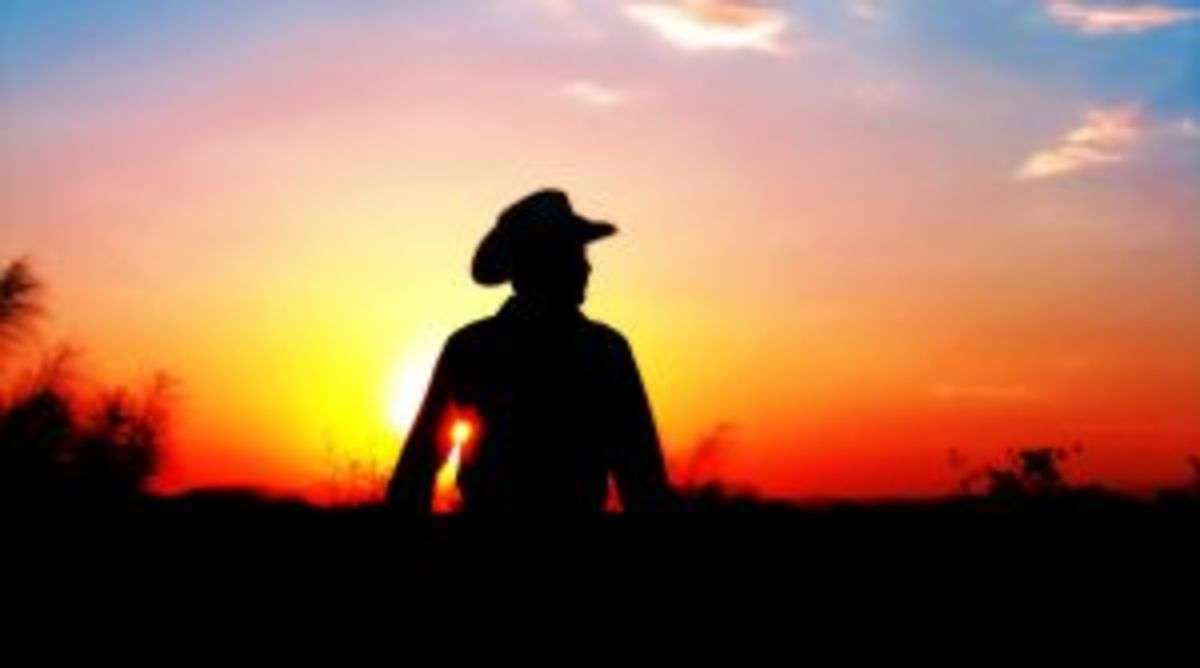 Now, what is more poetic than that???  It even has sky! Cowboy Poetry Week 20th-26th