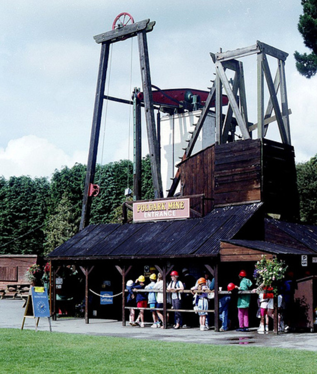 Places to Go in Cornwall: Poldark Mine, Helston, Cornwall