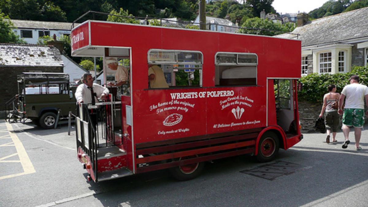 Fake Tram at Polperro, Tram Ride