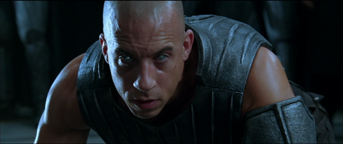 Vin Diesel is at least interesting as the antihero at the centre of the picture but this sci-fi outing is a dud compared to its lower-budget predecessor.