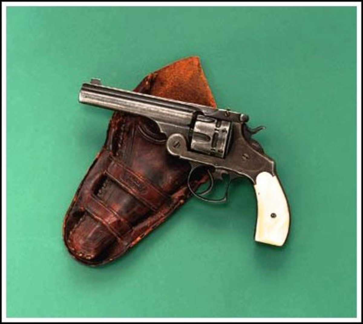 Marshal Duggan's Smith & Wesson .44 Double Action Frontier Revolver