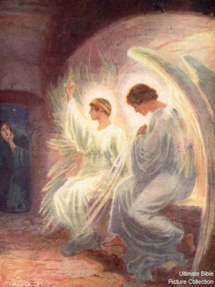 He is not here He is risen.