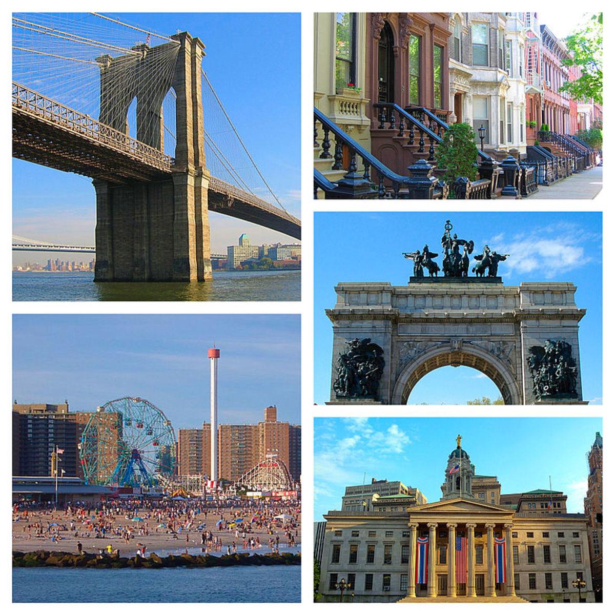 In The City We Became, N.K. Jesmin sold me The Brooklyn Bridge