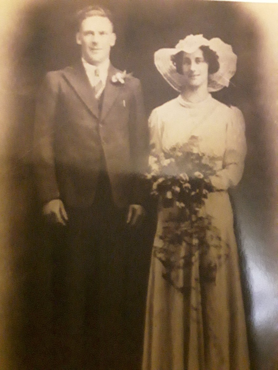 Grandma and grandad Collins
