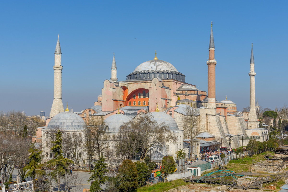 Hagia Sophia seems to have exerted a potent effect on European visitors to the Ottoman Empire