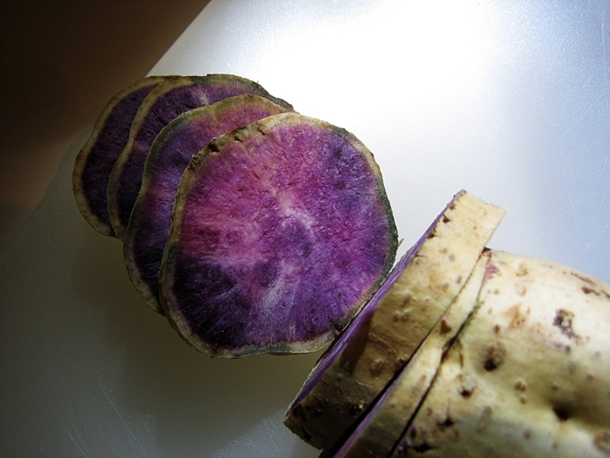 Ube Halaya's Main Ingredient: Purple Yam or Sweet Potato