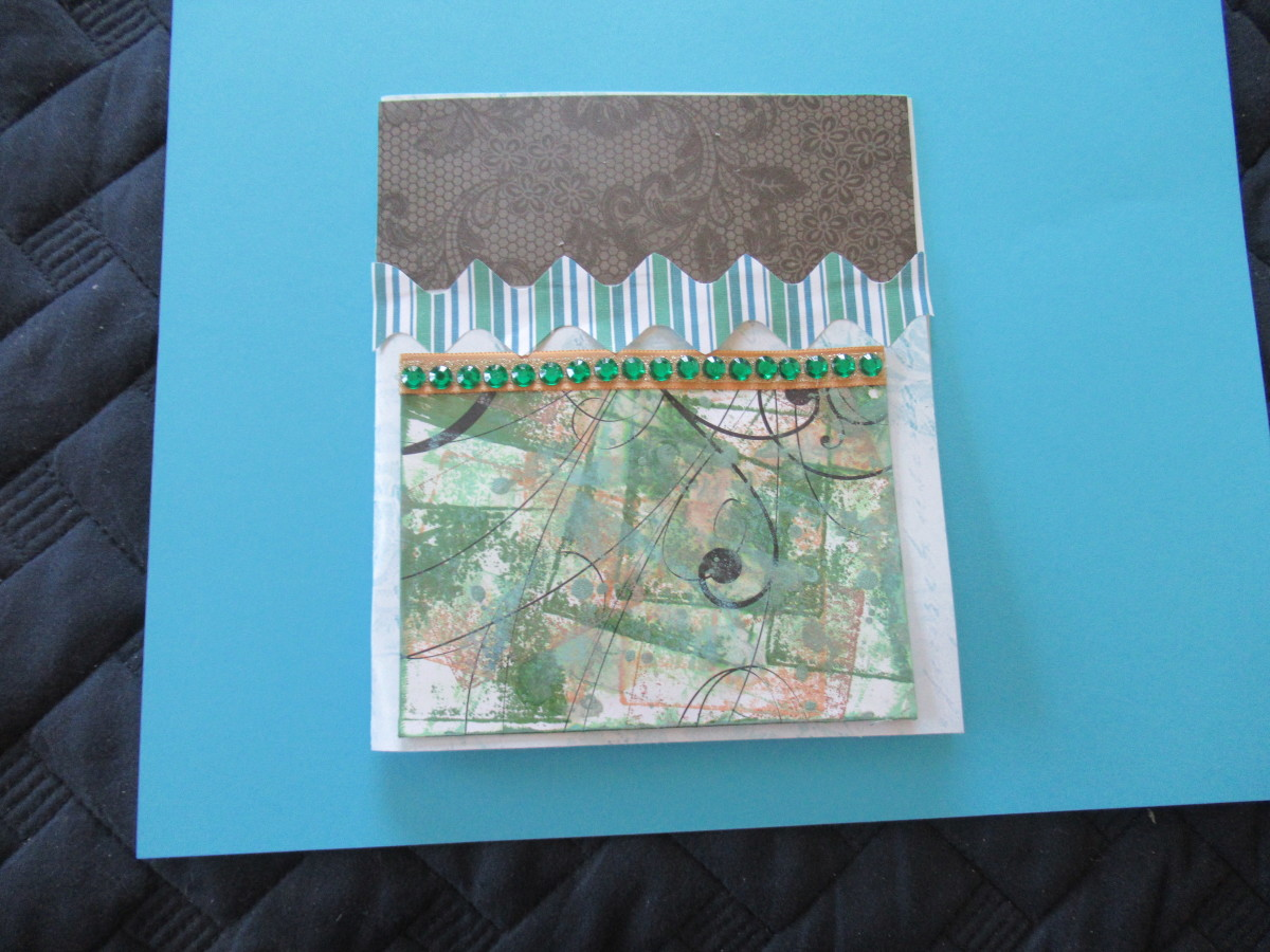 Create rick rack for your journal pages, scrapbook pages and cards