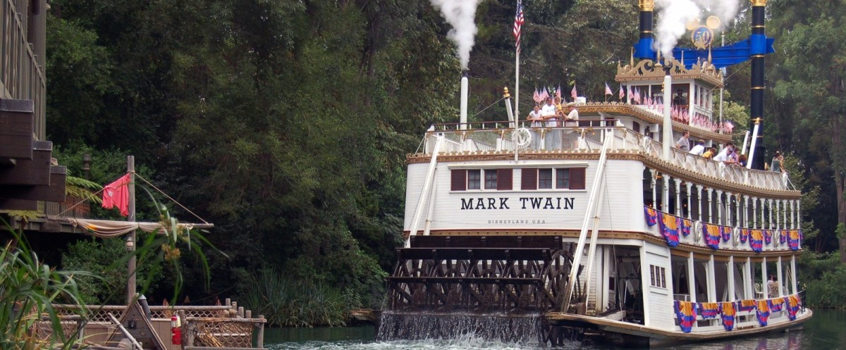 Disneyland ~ Mark Twain