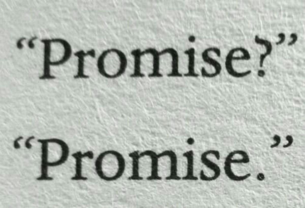 """""""Promise""""-Ishita Bose"""