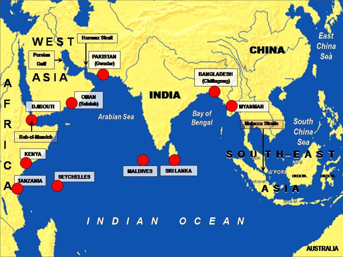 China Us and India the Strategic Competition Over Indian Oceans Region