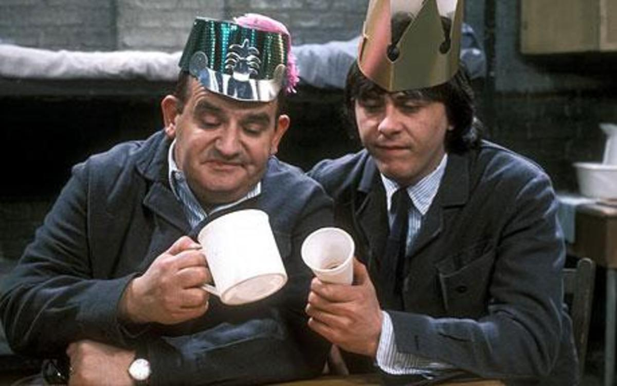 Norman Stanley Fletcher and Lennie Godber (Ronnie Barker and the late Richard Beckinsale)