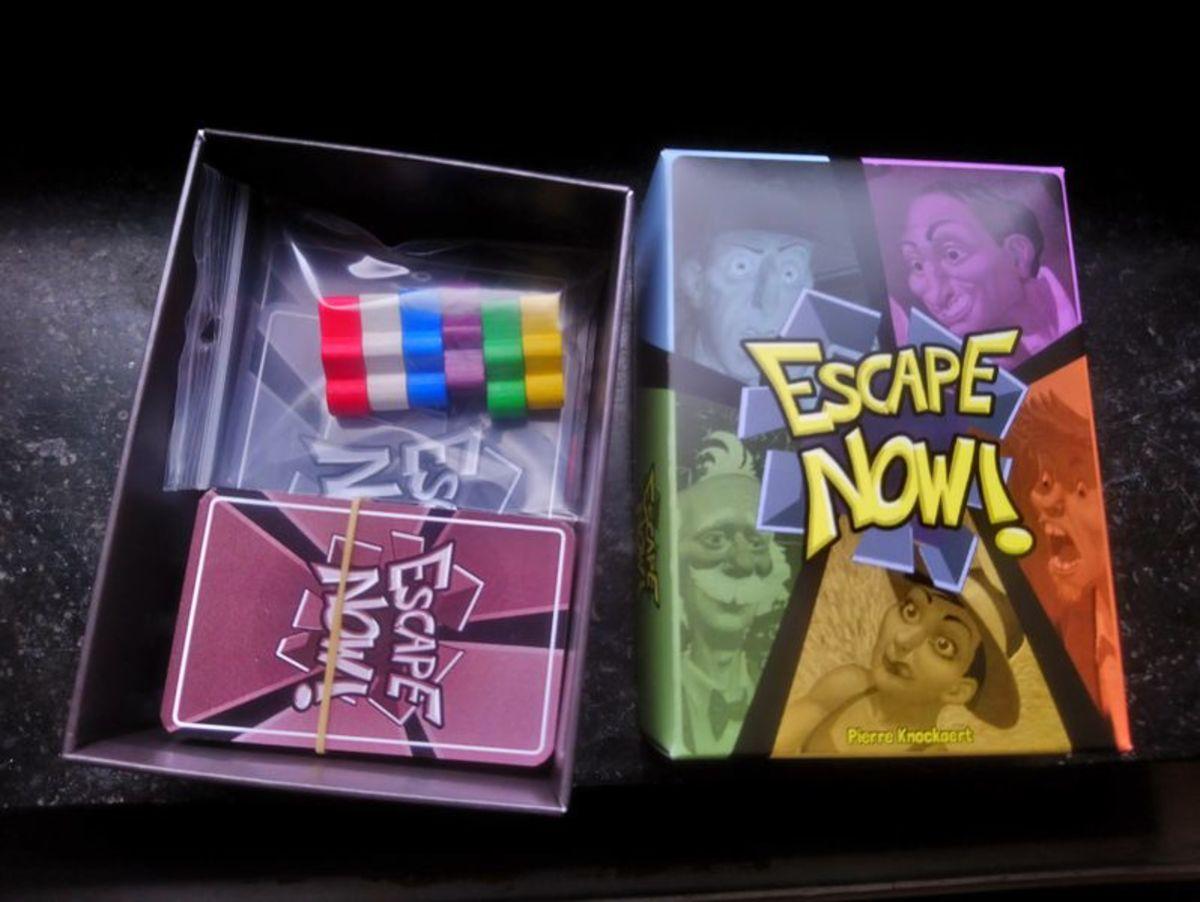 Escape Now board game