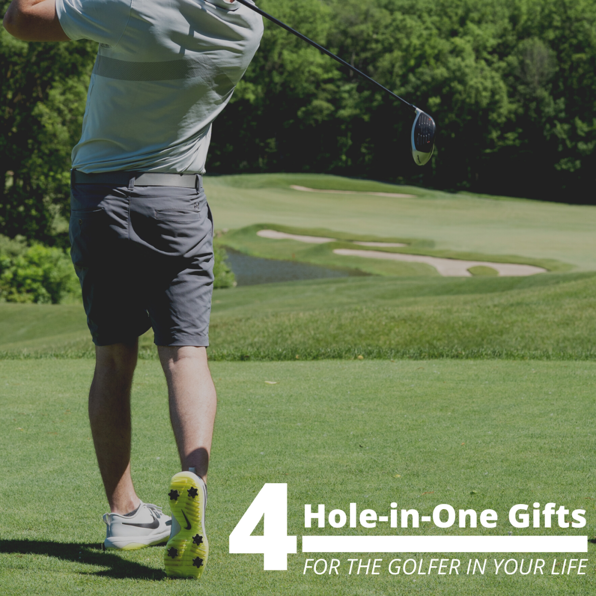 If your loved one has a passion for hitting the links, why not get them something they can use while they play?