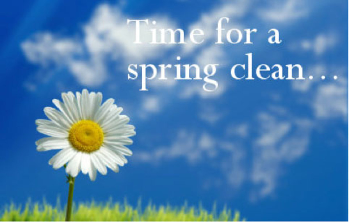 Spring Cleaning Doesn't Have to Be a Chore